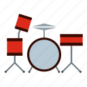 culture, drums, instrument, music, musical, percussion, rhythm icon