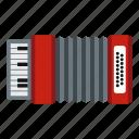 accordion, equipment, instrument, music, musical, musician, sound