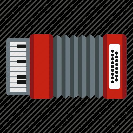 accordion, equipment, instrument, music, musical, musician, sound icon