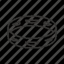 instrument, music, rhythm, sound, tambourine icon