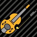 fiddle, instruments, music, violin icon