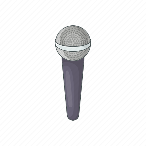 audio, cartoon, karaoke, microphone, record, sign, speech icon