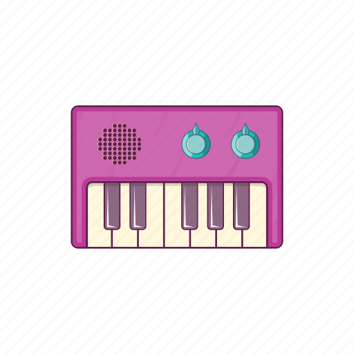 cartoon, keyboard, music, musical, piano, sign, synth icon