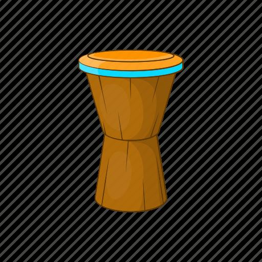 african, cartoon, culture, drum, instrument, music, sign icon