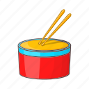 cartoon, culture, drum, instrument, music, musical, sign icon