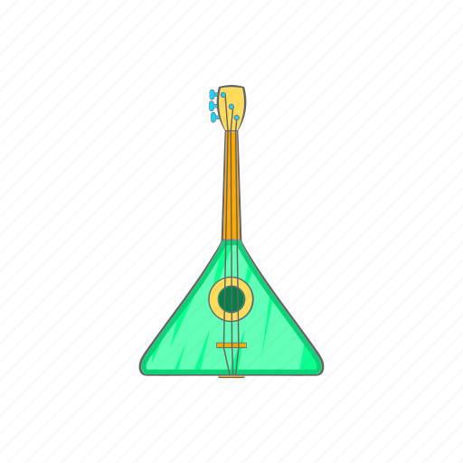 cartoon, guitar, music, rock, sign, string, triangle icon