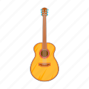 cartoon, electric, guitar, music, rock, sign, string icon