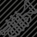 concert, music, musical, orchestra, trombone, trumpet, tuba icon