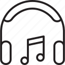 audio, instrument, listening, music, musical, sound, speaker icon
