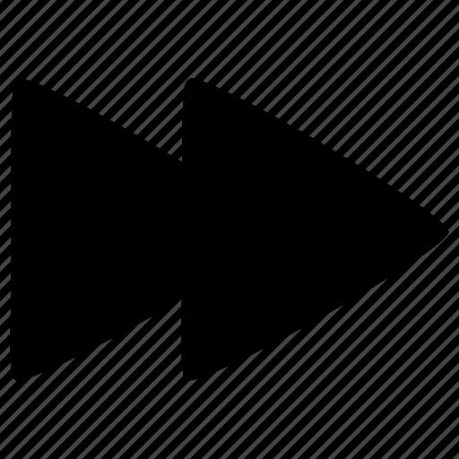 audio, fastfoward, media, video icon