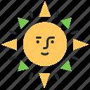 daylight, light, summer, sun icon