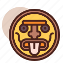 godess, mask2, mayan, religion, roman, worship icon