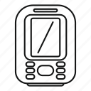 display, echo, sounder, vector, thin