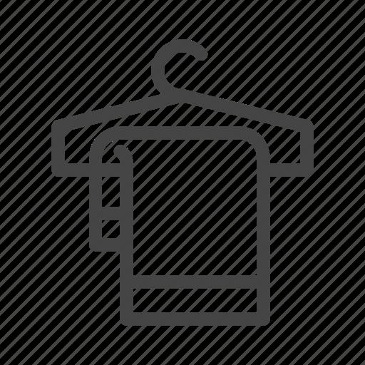 bath, bathroom, clean, hang, hygiene, shower, towel icon