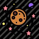 astronomy, galaxy, planets, universe icon
