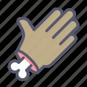 bone, gesture, hand, palm, undead icon