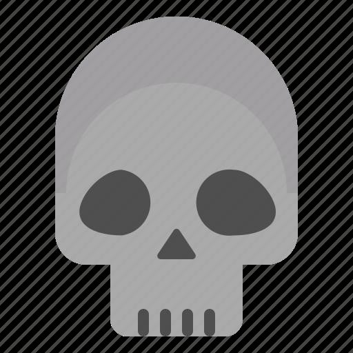dead, horror, skull, undead icon