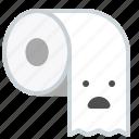 bath, care, paper, toilet, wc icon