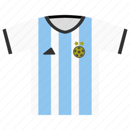 argentina, fifa, football, jersey, kit, soccer, world cup icon
