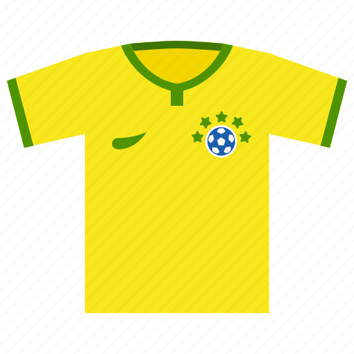 brazil, football, soccer, world cup icon