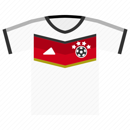 football, germany, jersey, kit, soccer, world cup icon