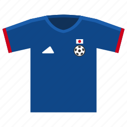 football, japan, soccer, world cup icon