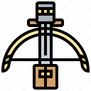 archery, arrow, crossbow, hunter, weapon icon