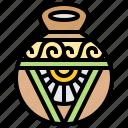 antique, artifact, handmade, pottery, vase