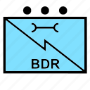 bdr, communications, information, military, nato, signals, systems icon