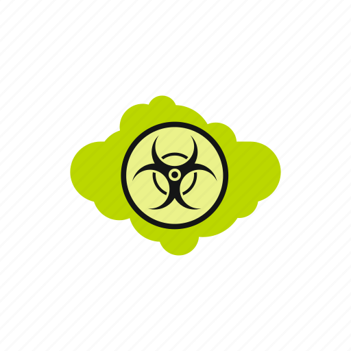 atomic, cloud, danger, energy, nuclear, radioactive, safety icon