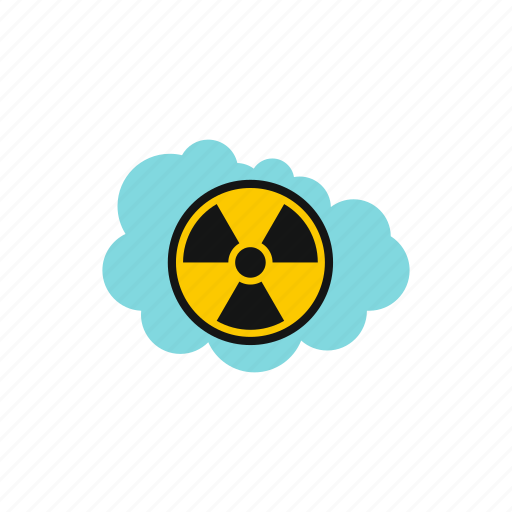 air, atomic, danger, energy, nuclear, radioactive, safety icon