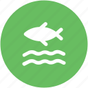 fish, fish in ocean, fish in river, fish in sea, river icon