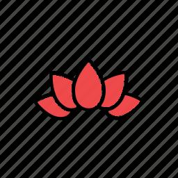 garden, lotus, nature icon