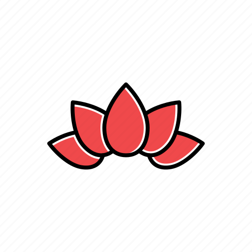 garden, lotus, nature icon