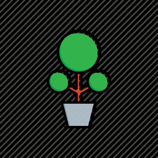 green, nature, plant, pot icon