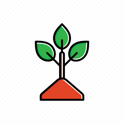 green, leaves, nature, plant icon