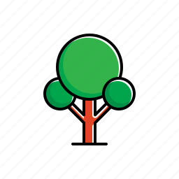 garden, green, nature, tree icon