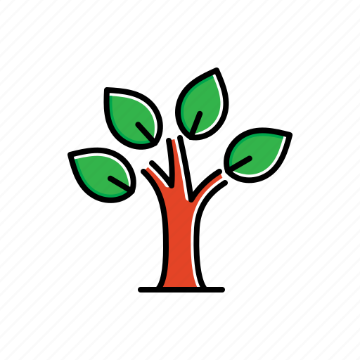 eco, environment, green, leaves, nature, plant, tree icon