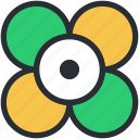 beauty, blooming, buttercup flower, flower, nature icon