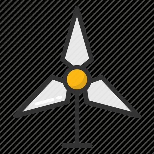 aer generator, whirligig, wind energy, wind mill, wind power icon