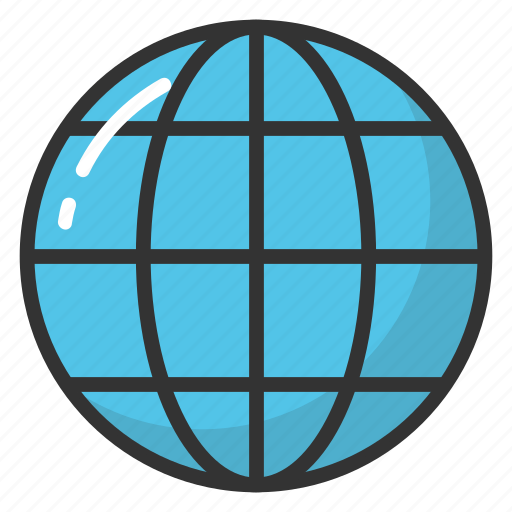geographic, global map, universe, world globe icon