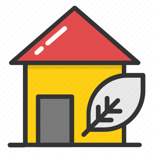 agricultural house, country house, eco house, farm house, greenhouse icon