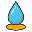 drip, droplet, rain drop, tear, water drop icon