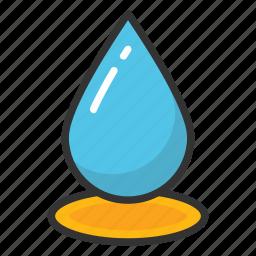 drip, droplet, rain drop, tear, water drop icon