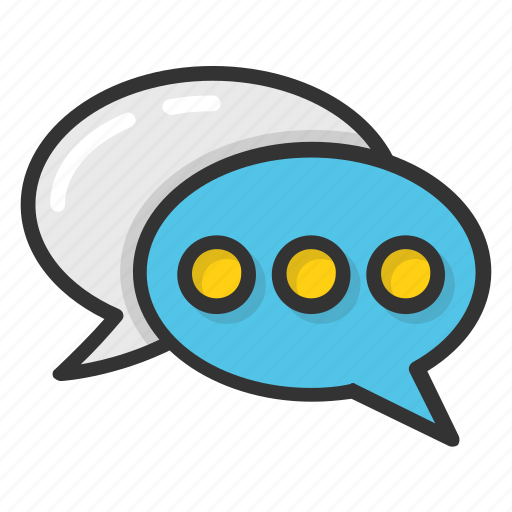 bubble, chat, chit chat, comments, talk icon