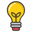 electric light, electricity, led bulb, light bulb, luminaries icon