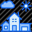 building, school, education, house, nature