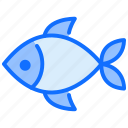 fish, dead, nature, food, seafood icon
