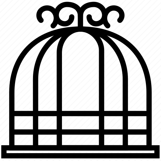 bird, cage, home, house, pet icon