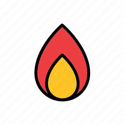 fire, flame, natural, nature, world icon